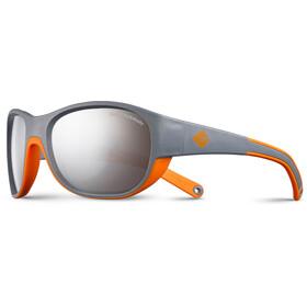 Julbo Luky Spectron 4 Okulary przeciwsłoneczne 4-6 lat Dzieci, szary/pomarańczowy